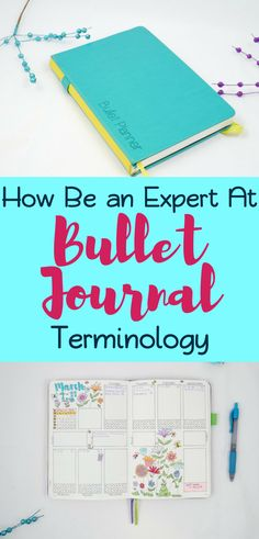 Bullet Journal Glossary - Be an expert at everything bullet journal related! Know all the terms and definitions so you sound smart when it comes to your bujo. Get bullet journal ideas and inspiration to help you get started with all the knowledge necessary.