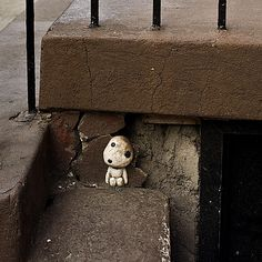 Kodama, found by Dr. Rawhea in Manhattan, next to the Magnolia Bakery