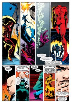1982 - Daredevil #185 Page #15 by Frank Miller and Klaus Janson - Final Art