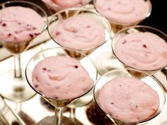 Lingonmousse Swedish Recipes, Fika, No Bake Treats, Mousse, Panna Cotta, Pudding, Sweets, Vegetables, Cooking
