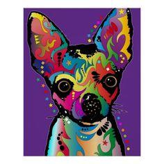 Het Art. van Chihuahua Print