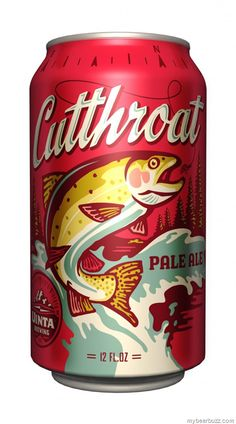 Cutthroat Pale Ale Coming to 12 oz. Cans. Uinta Brewing. mybeerbuzz.com