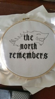 Game of Thrones cross stitch