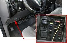 ford f-150 (1997-2003) < fuse box location electrical fuse,
