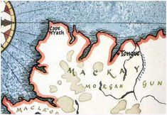 clan mackay   mackay clan map see where the mackay clan was originally from take a ...