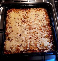 Élesztő nélküli pizza Winter Food, Lasagna, Macaroni And Cheese, Food And Drink, Ethnic Recipes, Mac And Cheese, Lasagne