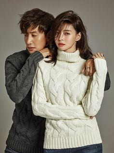 Lee Kwang Soo and Nara (Hello Venus) have been chosen to show the F/W 2016 collection for brand Buckaroo. We think this is a perfect pairing – they're both super tall and skinny and the… Running Man Cast, Running Man Korea, Pre Wedding Poses, Wedding Couple Photos, Korean Couple Photoshoot, Kwang Soo, Korean Wedding, Korean Fashion Men, Korean Entertainment