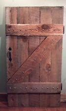 Farm Barn Style Door~Reclaimed Wood~Primitive Rustic Country Home Decor