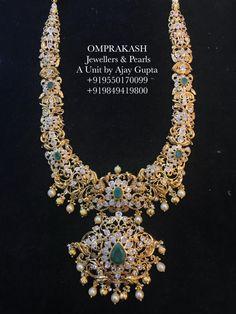 Exclusively Designed Nakshi Long Haar!Handcrafted by Omprakash Experienced Goldsmiths... 04 November 2018