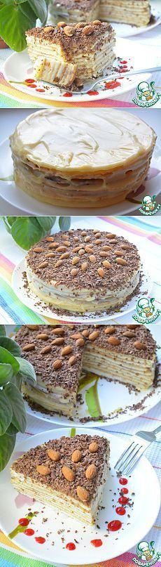 """Торт """"Нежность"""" - шикарнейший торт на сковороде, без лишних усилий и затрат!"""
