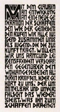 Ernst Ludwig Kirchner - Programma del Gruppo artistico 'Die Brücke'