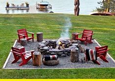 Easy landscaping Ideas Best ideas for the garden backyard patio! Garden Fire Pit, Fire Pit Backyard, Backyard Patio, Backyard Landscaping, Landscaping Ideas, Backyard Seating, Backyard Ideas, Outside Fire Pits, Cool Fire Pits
