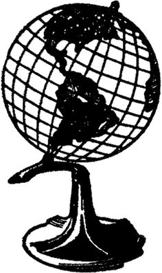 The Graphics Fairy: globe