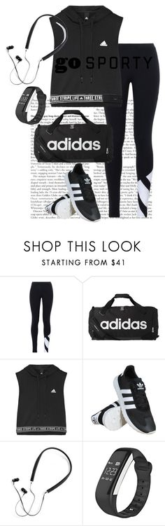 """Workout"" by glittergum-1 ❤ liked on Polyvore featuring adidas Originals, adidas and Polaroid"