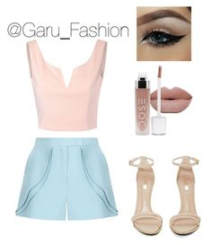 """Sin título #177"" by garufashion0 on Polyvore featuring Elie Saab, Glamorous y Jeffrey Campbell"