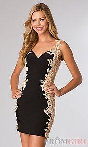 Buy Short Sleeveless JVN by Jovani Dress at PromGirl