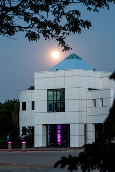 Moon over Paisley Park on 5/21/16  I know U R Still HERE...