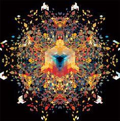 (◎_◎;) 催眠誘導幾何学模様 Andy Gilmore