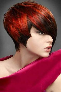 Cool Colors for Short Hair | 2013 Short Haircut for Women