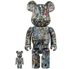 Jackson Pollock Studio Ver.2.0 100% + 400% Bearbrick Set (Sep 2018) #jacksonpollock #fatsuma #bearbrick #medicom #ver.2.0 #pollock #bearbrick400 #awesome #cool #instacool #beautiful #beauty #amazing #love #instalove #fun #art #instagood #collectible #toy #new