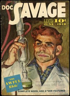 Doc Savage – Page 2 – Pulp Covers Pulp Magazine, Magazine Covers, Vintage Classics, Eric Cantona, Pulp Art, Pulp Fiction, Savage, Novels, Illustration Art