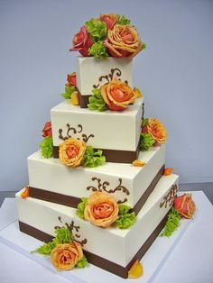 Beautiful wedding cake!