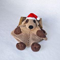 Puppy Dog Lovey / Security Blanket - PDF Crochet Pattern - Instant Download - Blankie Baby Blanket