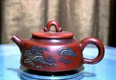 A Fine Zitan Teapot  www.emperorsantique.blogspot.com