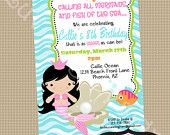 Mermaid invite