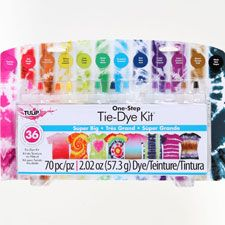 Tulip® One-Step 12-Color Tie-Dye Kit®