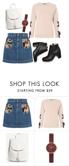 """""""×Chic"""" by mary-reynoso on Polyvore featuring STELLA McCARTNEY, Dorothy Perkins, Everlane and Skagen"""