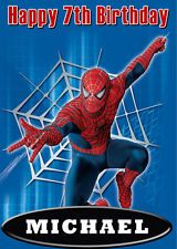 Spiderman birthday card masculine birthday cards and october afternoon m4hsunfo