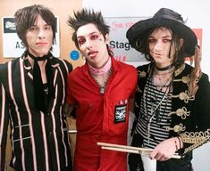 Can't get enough of these guys😍🖤 Sebastian Danzig, Emerson Barrett, Awsten Knight, Palaye Royale, Halestorm, Music Memes, Music Library, Rockn Roll, Emo Boys
