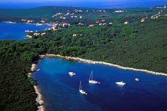 Ugljan bay, south view. #sailing #Ugljan #Adriatic #sea