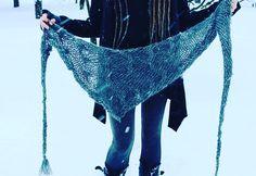 Garron shawl. A fast and fun knit on Ravelry~