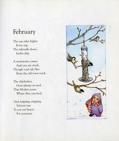 February by John Updike