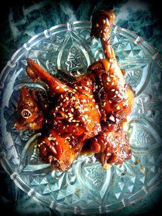 Caramel Wings: Honey Glazed Sesame Chicken. A 'Shop For Change' initiative.