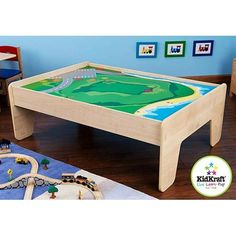 KidKraft Train Table, Natural