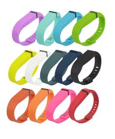 Fitbit Flex Bands Replacement Bracelet Wristband + Clasp (Small or Large - Mobile Mob)