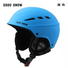 56.60$  Watch now - http://ali0uj.worldwells.pw/go.php?t=32779034783 - Snow Gsou Outdoor Thermal Ski Helmet super light material male and female couples a single board and double board general 56.60$