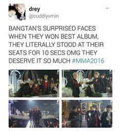 #BTS1stDaesang and they deserve it n more