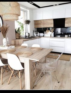 Kitchen Inspiration // My Hygge Home - All Ideas Hygge Home, Modern Kitchen Design, Interior Design Kitchen, Home Decor Kitchen, Home Kitchens, Room Kitchen, Kitchen Living, Sweet Home, Budget Home Decorating