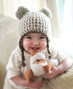 Cute cute bear hat