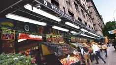 Since opening in April 2012, Westside Market NYC's new store on the Upper West Side of Manhattan has continued the four-store chain's focus on convenience and community. Westside Market NYC CEO George Zoitas said the 97th Street and Broadway location, the second on the Upper West Side, was chosen because of its proximity to the express subway train that allows shoppers to easily get off the train and shop. The family-run store's on-site kitchen prepares many fresh, ready-to-go items.