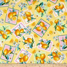 Lemon Fresh Cotton Fabric Lemon Labels Blocks Benartex By the Yard by BostonFabricStash on Etsy Yellow Quilts, Yellow Fabric, Lemon Background, How To Squeeze Lemons, Lemon Yellow, Home Decor Items, Wall Design, Decorative Items, Accent Decor