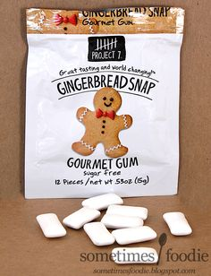 Sometimes Foodie: Project 7 Gingerbread Snap Gum - Target