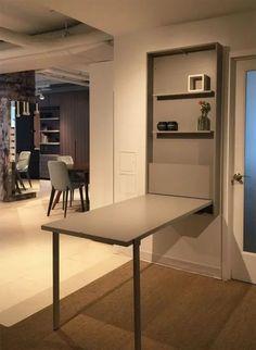Smart Furniture Ideas Space Saving Dining Tables 61 Ideas For 2019 Compact Furniture, Folding Furniture, Multifunctional Furniture, Smart Furniture, Space Saving Furniture, Furniture Makeover, Living Room Furniture, Home Furniture, Furniture Design