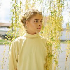 "Marla Catherine on Instagram: ""OKAY i love spring and turtlenecks and the color yellow so pls enjoy"""