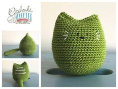 Planter Pots, Fruit, Crochet Stuffed Animals, Baby Favors, Cats