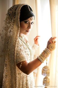 Desi Brides transcend and stun as wintery goddesses..